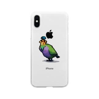 GRADUCAのカカポ Soft clear smartphone cases