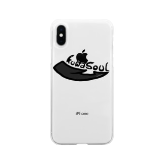 Kuwasoul【クワソウル】 Soft clear smartphone cases