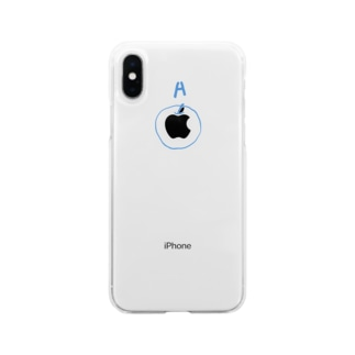 [A]APPLE Soft clear smartphone cases