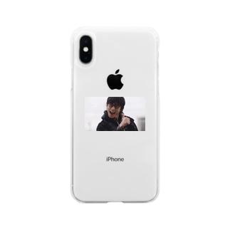 みんなの絆の剛ちゃん Soft clear smartphone cases