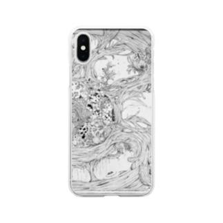 シノニム Soft clear smartphone cases