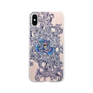 思惑 Soft clear smartphone cases