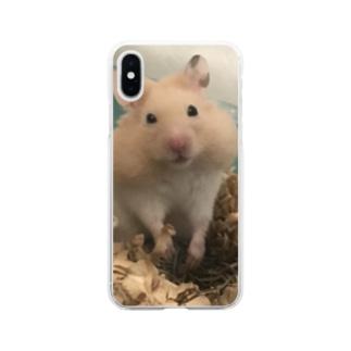 ネリネの眼差し Soft clear smartphone cases