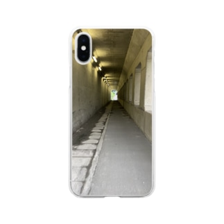 地下道 Soft clear smartphone cases