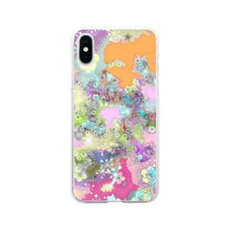自由 Soft clear smartphone cases