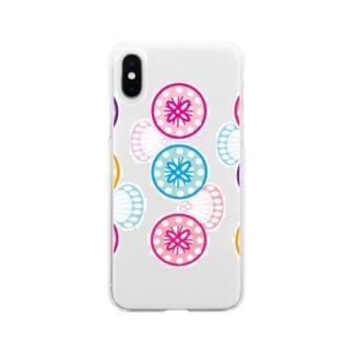 サガリバナ Soft clear smartphone cases