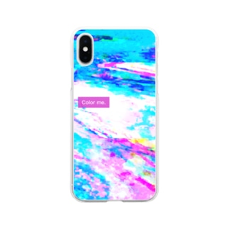 Color me.7 Soft clear smartphone cases