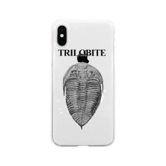 三葉虫 Soft clear smartphone cases