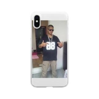 俺のガンフィンガー Soft clear smartphone cases