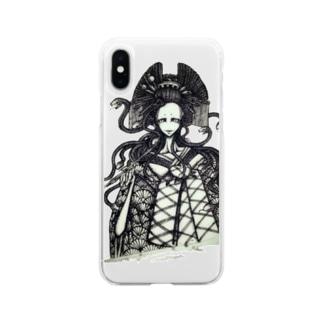 蛇太夫 Soft clear smartphone cases
