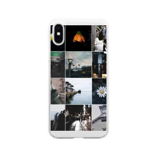 モラトリアム Soft clear smartphone cases