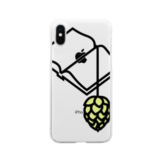 BREWBOOKS あなご支店のBREWBOOKSスマホケース Soft clear smartphone cases