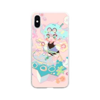 海の魔術士 Soft clear smartphone cases