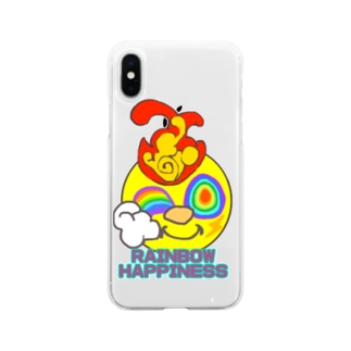リンカーくん Soft clear smartphone cases