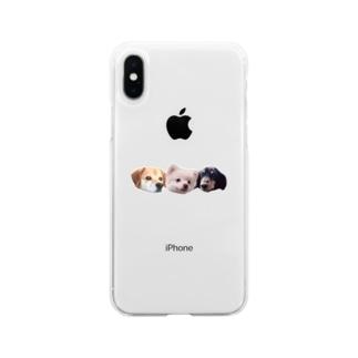 ころちょこぽんた Soft clear smartphone cases
