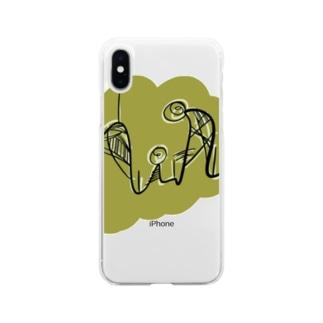 背比べ Soft clear smartphone cases