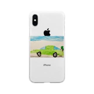 走れ!ぼくのスポーツカー🏎 Soft clear smartphone cases