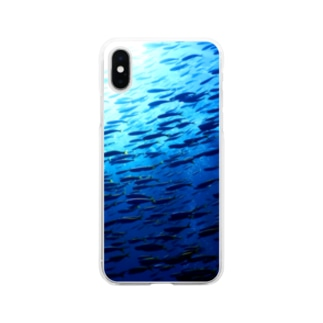 2月のタカベ Soft clear smartphone cases