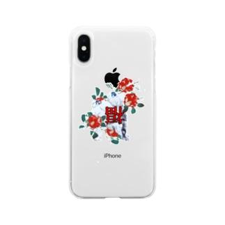 あやみちゃんへ Soft clear smartphone cases