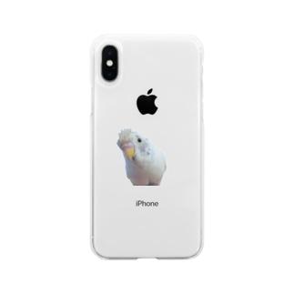 おしゃれこはちゃん Soft clear smartphone cases