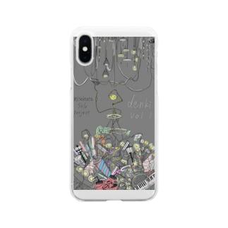 denki Vol.1 Soft clear smartphone cases