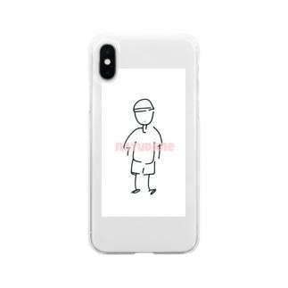 夏! Soft clear smartphone cases