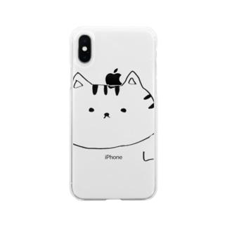 らに Soft clear smartphone cases