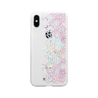 鱗\ビビッド Soft clear smartphone cases