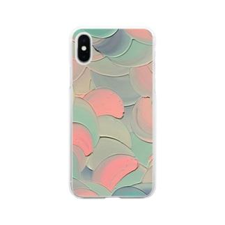 スリーエフ Soft clear smartphone cases