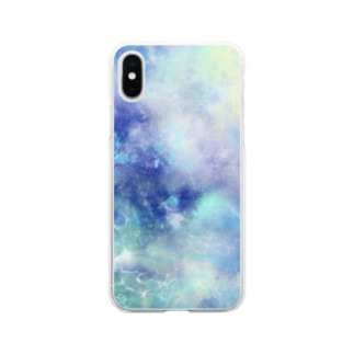 青水 Soft clear smartphone cases