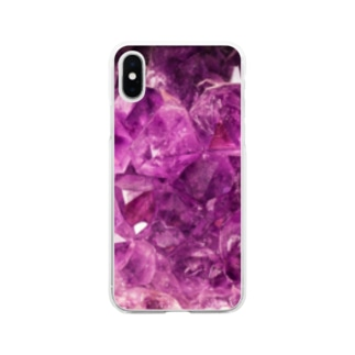 amethystⅠ Soft clear smartphone cases