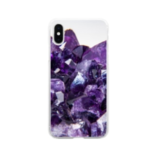 amethystⅥ Soft clear smartphone cases
