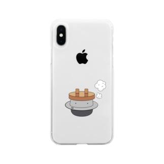 かまどさん Soft clear smartphone cases