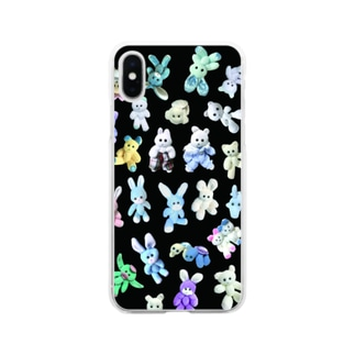 K-FAMILY night Soft clear smartphone cases