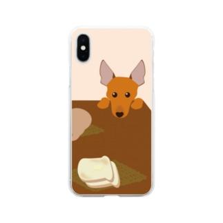 ミニチュア・ピンシャー Soft clear smartphone cases