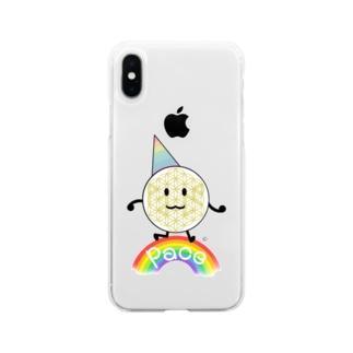 ぱぁちぇ Soft clear smartphone cases