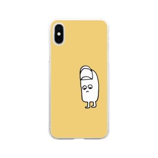 おやゆびくん Soft clear smartphone cases