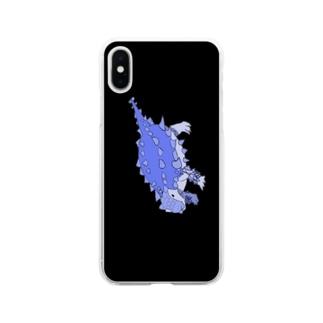 さいかにあ Soft clear smartphone cases