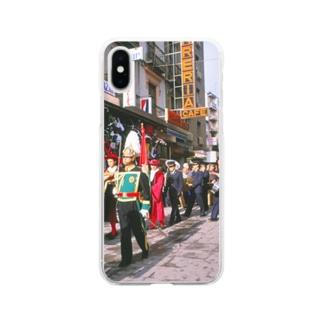 スペイン:レコンキスタのパレード Spain: Parade of the Reconquista Soft clear smartphone cases