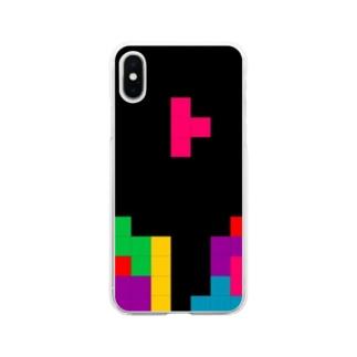 てとりす Soft clear smartphone cases