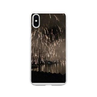 花火景色 Soft clear smartphone cases