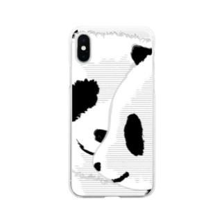 PANDA COMPLEX パンダ頭複合体 Soft clear smartphone cases