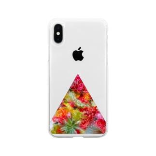 不自然な正三角形 Soft clear smartphone cases
