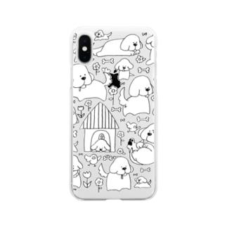 いぬけんいぬけん! Soft clear smartphone cases