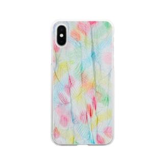 水色ぷりーつ/カヨサトーTX Soft clear smartphone cases
