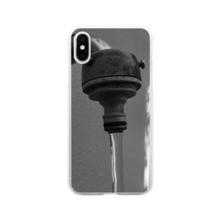 真水 Soft clear smartphone cases