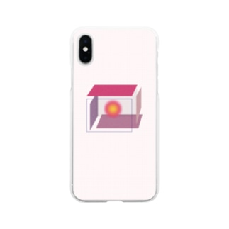 封じ込める〜! Soft clear smartphone cases