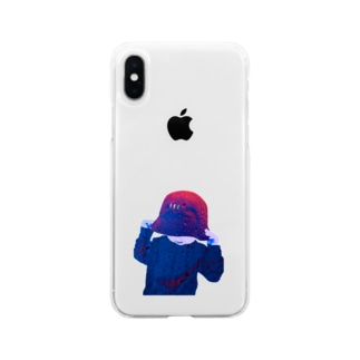 TAKUMI BOYのbucket Soft clear smartphone cases