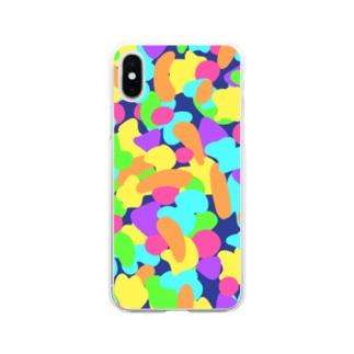 あたまのなか Soft clear smartphone cases