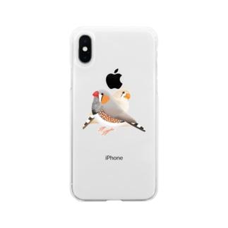 キンカペア Soft clear smartphone cases